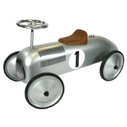 Great Gizmos Silver Classic Racer Ride On