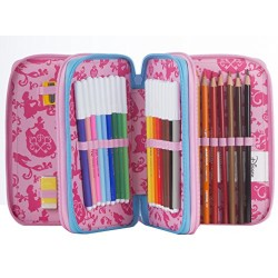 3 ZIP Pencil Case