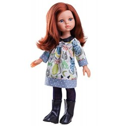 Paola Reina Paola Reina04646 32 cm Friends Cristi Doll with Floral Print Dress