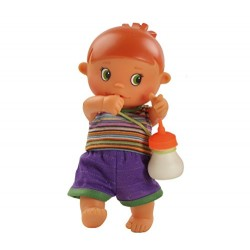 Paola Reina 03068 22 cm Gino Doll with Bottle