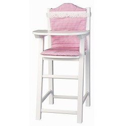 Micki Doll's High Chair with Cushion