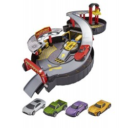 Teamsterz 1416484 Pack Away Garage with 5 Cars, 3