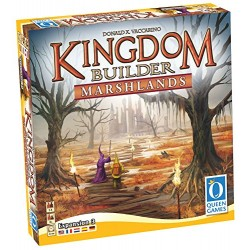 Queen Games 10072 Kingdom Builder Marshlands Multilingual Game
