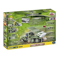 COBI 2448 Small Army World War Ii, Katyusha Bm