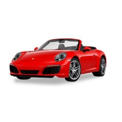 Herpa 028844 Porsche 911 Carrera 2 Convertible, Single Shot