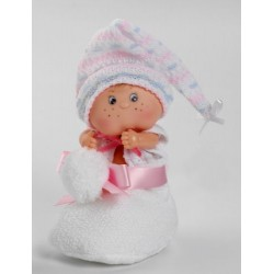 Berjuan Patuquet Doll in Wool Sock (White)
