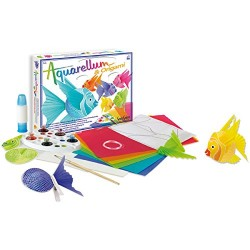 Sentosphère 3906400 Aquarellum und Origami Mobile Craft Set
