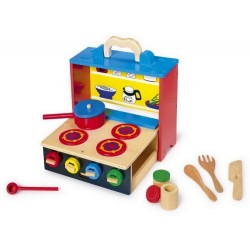 Legler Mobile Kitchen and Food Toy