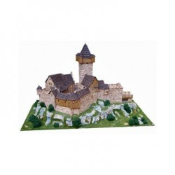 Aedes Aedes1001 37 x 26 x 7 cm Castle Falkenstein Model Kit