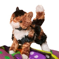 Cuddle Toys 3719 Cashmere Calico Cat Toy