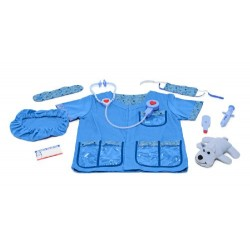 Melissa & Doug Veterinarian Role Play Costume Dress