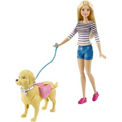 Barbie DWJ68 Walk and Potty Pup Doll