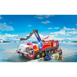 Playmobil 5337 City Action Airport Fire Engine with Lights and Sound