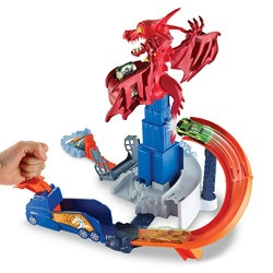 HotWheels 900 DWL04 Dragon Blast Playset