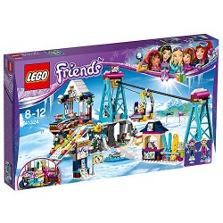 LEGO UK 41324 Snow Resort Ski Lift Construction Toy