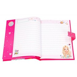 TOPModel Secret Code Diary with Sound, Motive 1, 8985
