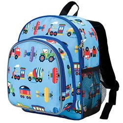Wildkin Toddler Transport Backpack, Multi