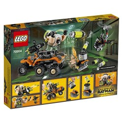 DC Comics Lego UK 70914 Bane Toxic Truck Attack Construction Toy