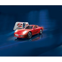 Playmobil 3911 Porsche 911 Carrera S with Lights & Workshop