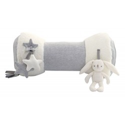 Mamas & Papas My First Tummy Time Activity Toy, Grey/White