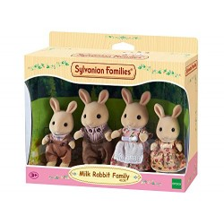 Sylvanian 4108 Families Milk Rabbit Family