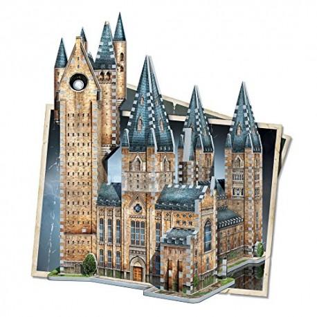 Wrebbit 3D Puzzle Harry Potter Hogwarts Astronomy Tower Puzzle