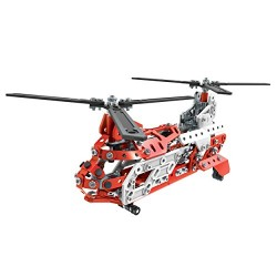 Meccano 6028598 20 Model Set Helicopter Building Set