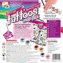 FabLab Glitter Tattoos Mega Pack