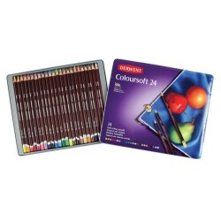 Derwent Coloursoft Colouring Pencils Tin