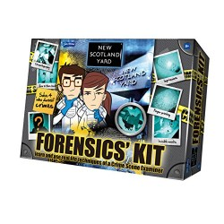 John Adams New Scotland Yard Forensics Refreshed 2014 Kit