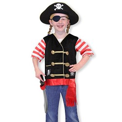 Melissa & Doug Pirate Role Play Costume Dress