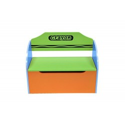 Kiddi Style Children's Wooden Toy Storage Box and Bench