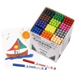 Crayola 144 Fineline Pens Class Pack