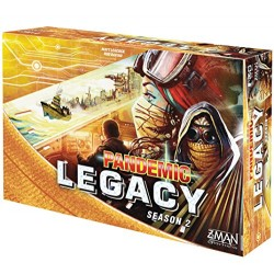 Z Man Games Pandemic Legacy Season 2 Board Game, Yellow