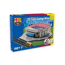 NANOSTAD Barcelona Camp Nou Stadium 3D Puzzle