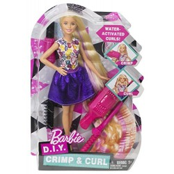 Barbie DWK49 Crimp and Curl Doll