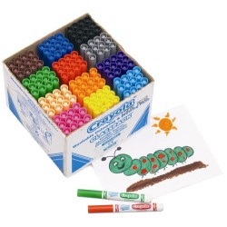 Crayola 144 Broad Line Colouring Class Pack