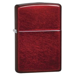 Zippo 21063 Windproof lighter without logo, Candy Apple Red, Regular