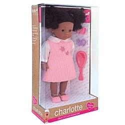 Dolls World 8118 Charlotte Black Doll
