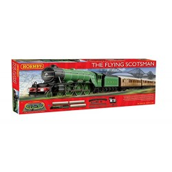 Hornby R1167 Flying Scotsman 00 Gauge Electric Train Set