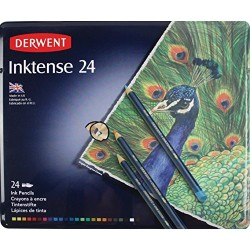 Derwent Inktense Watercolour Pencils Tin