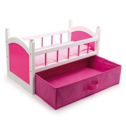 Legler Doll's Bed (Pink)