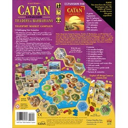 Mayfair MFG 3079 Catan Traders and Barbarians Expansion
