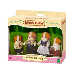 Sylvanian 5000 Families Chiffon Dog Family