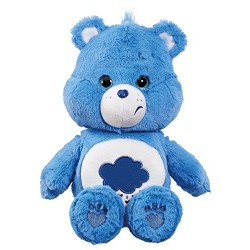 Care Bear Grumpy Bear Plush Toy with DVD (Medium)