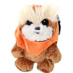 Joy Toy 1400609 17 cm Star Wars Ewok Velboa Velvet Plush Soft Toy
