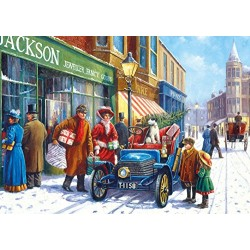 Gibsons Winter about Town Jigsaw Puzzle (4 x 500