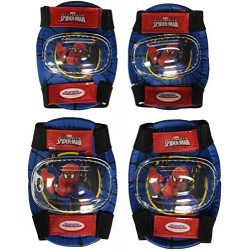Spiderman Protective Helmet and Pads Set with Bag